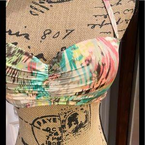 Victoria's Secret Swimsuit Top Sz 36C Padded cups